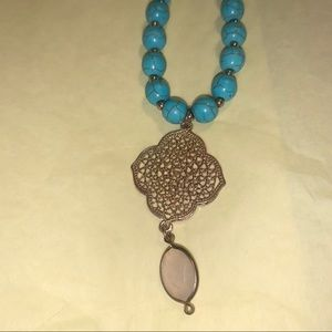 WORLD MARKET Long Pendant Necklace